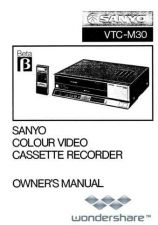 Buy Sanyo VTC-M30 Manual.pdf_page_1 by download #177614