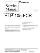 Buy PIONEER PET99006 Service Data by download #149304