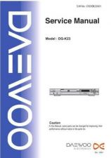 Buy Deewoo XW-123DPR (E) Operating guide by download #168528
