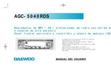 Buy Deewoo AGC-5040RDS (S) Operating guide by download #167501