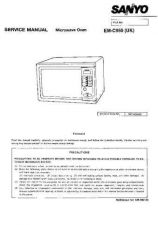 Buy Sanyo EM2610 PROD CHANGE Manual by download #174234