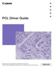 Buy Canon PCLDRV G Service Schematics by download #135272