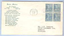 Buy DC Washington First Day Cover / Commemorative Cover James Monroe~33