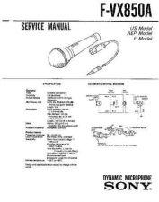 Buy SONY FS-G71KJ Service Manual by download #166818