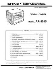 Buy Sharp 590 AR-5015 Manual by download #178710