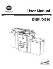 Buy Minolta OPSDI551 Service Schematics by download #137531