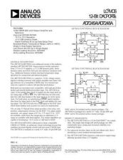 Buy INTEGRATED CIRCUIT DATA AD7245 8J Manual by download Mauritron #186318