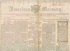 Buy CT Hartford Newspaper Title: American Mercury Date: Jun-8-1809~23