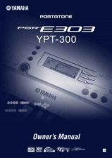 Buy Yamaha PSRE303_EN Operating Guide by download Mauritron #204210
