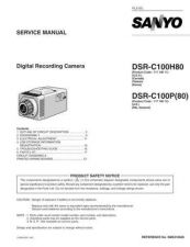 Buy Sanyo Service Manual For DSR-300P-03 Manual by download #175674