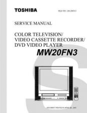 Buy TOSHIBA MW20FN3 SVCMAN ON by download #129580