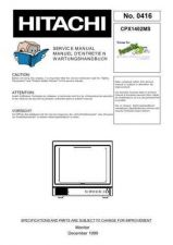 Buy Hitachi CPX2102MS NO 0420E Manual by download Mauritron #186007