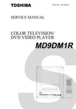 Buy TOSHIBA MD9DM1R SVCMAN Service Schematics by download #160202