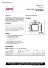 Buy SEMICONDUCTOR DATA LA9241J Manual by download Mauritron #188984
