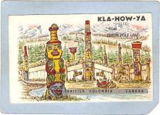 Buy CAN Komkotes Postcard KLA-HOW-YA Hello From Totem Pole Land can_box1~52