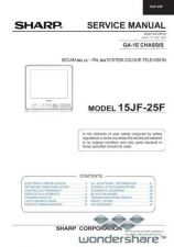 Buy Sharp 15JF25F SM GB(1) Manual.pdf_page_1 by download #177782