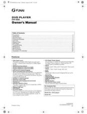 Buy Funai DVP-4000 E57A1ED(GR) Owners User Guide Operating by download #162142