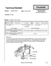 Buy Sharp TBS93010 Technical Bulletin by download #139160