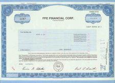 Buy DE na Stock Certificate Company: FFE Financial Corp. ~32