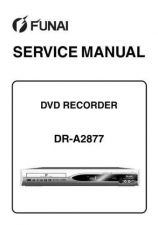 Buy Funai FUNAI DR-A2877 (E68C3ED) SERVICE MANUAL Manual by download #162339