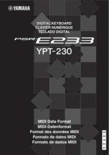 Buy Yamaha PSRE233_EN_DL_A0 Operating Guide by download Mauritron #204206