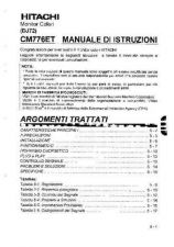 Buy Sanyo CM776ET FR Manual by download #173594