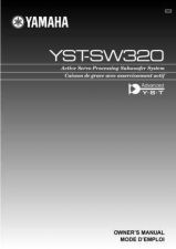 Buy Yamaha YST-SW315215 Owners Manual User Guide Operating Instructions by download