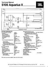 Buy INFINITY S106 AQUARIUS II TS Service Manual by download #151443
