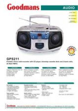 Buy GOODMANS GPS211 by download #125465
