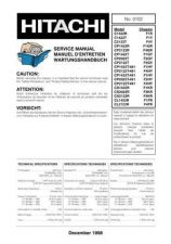 Buy HITACHI C1422R-F1R Technical Info by download #153944