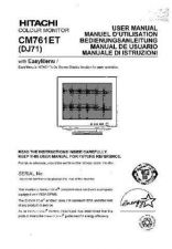 Buy Sanyo CM761ET FR Manual by download #173569