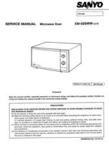 Buy Sanyo Service Manual For EM1900V UK Manual by download #175727