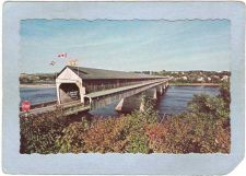 Buy CAN Hartland Covered Bridge Postcard Longest Covered Bridge In The World O~23