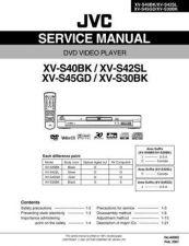Buy JVC XV-S42SL Service Manual by download #156726