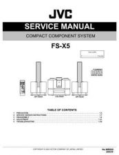 Buy JVC FS-X5 Service Schematics by download #155524