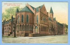Buy CT New Haven Battell Chapel Yale University View Of Large Old Building Hou~549