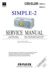 Buy AIWA CSD-ES216 TECHNICAL INFO by download #125236