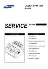 Buy Samsung ML-4600 Service Manual by download #138694