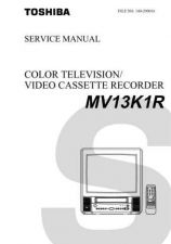 Buy TOSHIBA MV13K1R Service Schematics by download #160214