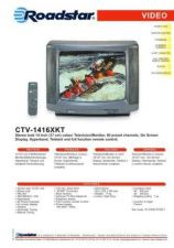 Buy ROADSTAR CTV-1416XKT by download #127994