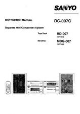 Buy Sanyo DC X1003 Operating Guide by download #169123