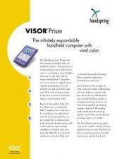 Buy PALM VISORPRISM DATASHEET by download #127477