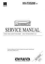 Buy MODEL HVFX5200 Service Information by download #124211