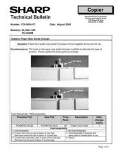 Buy Sharp FO3800 011 Technical Bulletin by download #139032