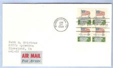 Buy DC Washington First Day Cover / Commemorative Cover Flag over Capital Bloc~63