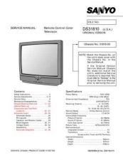 Buy Sanyo DS31590(SM780055-13,12,11,10,09,08,07,06,05,04,03,02,01) Manual by downloa