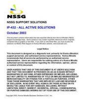Buy Konica IP432 Service Schematics by download #136446