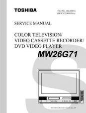 Buy TOSHIBA MW26G71 SVM Service Schematics by download #160326