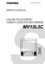 Buy TOSHIBA MV13L3C Service Schematics by download #160224