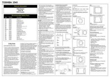 Buy Toshiba 2545 Service Manual by download #149848
